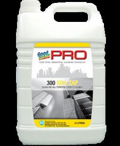 Dung dịch tẩy rửa sàn đa năng gốc kiềm G300 Soil Zap