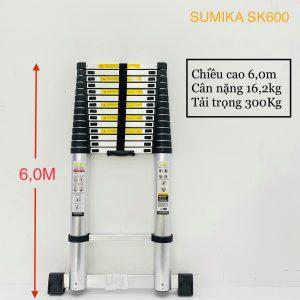 Thang nhôm rút đơn 6M Sumika SK600