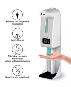 Máy rửa tay tích hợp đo nhiệt độ tự động K10 pro